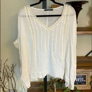 Doe & Rae Blouse White Large
